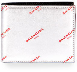 Balenciaga ALL OVER LOGO SLIM SQUARE WA $285 thestylecure.com