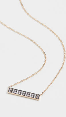Sorellina Otto Bar Necklace 18k Yellow Gold