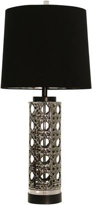 Stylecraft Style Craft Ceramic & Clear Acrylic Table Lamp