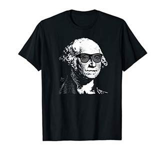 Cool George Washington Funny Hipster President T-Shirt