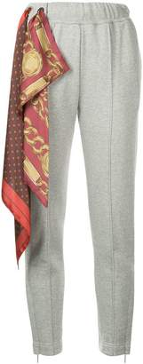 Puma Maison Yasuhiro scarf relaxed trousers