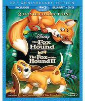 Disney The Fox and the Hound/The Fox and the Hound II - 3-Disc Blu-ray and DVD Set