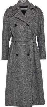 RED Valentino Herringbone Wool Trench Coat