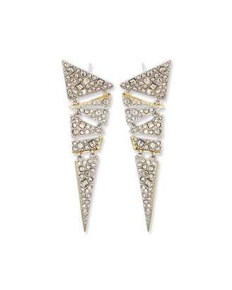 Alexis Bittar Hinged Crystal Mosaic Lace Drop Earrings $245 thestylecure.com