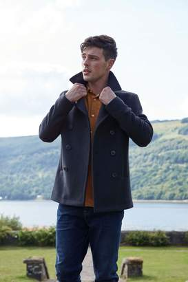 Jack Wills Bickmor Wool Peacoat