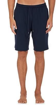 Derek Rose Men's Fluid Jersey Drawstring-Waist Shorts - Blue