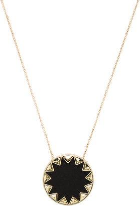 House of Harlow Sunburst Pyramid Pendant Necklace $58 thestylecure.com