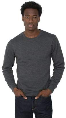 American Apparel Men's Flex Fleece Crew-Neck Pullover Sweatshirt