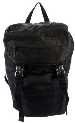 Marni Two-Tone Nylon Backpack w/ Tags
