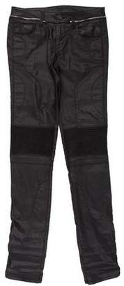 Gucci Mid-Rise Zip-Accented Jeans
