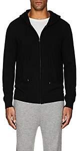 Barneys New York Men's Cashmere Zip-Front Hoodie-Black