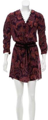 Veronica Beard Silk Printed Dress