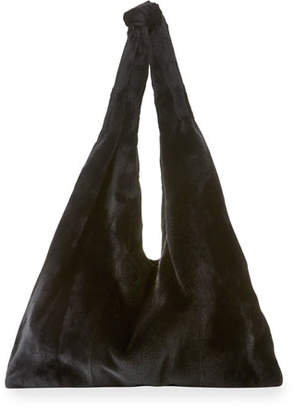 The Row Bindle Mink Fur Hobo Bag