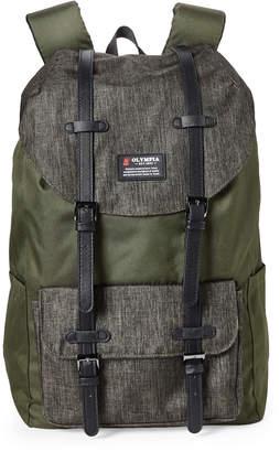 Olympia Olive Cambridge Urban Backpack