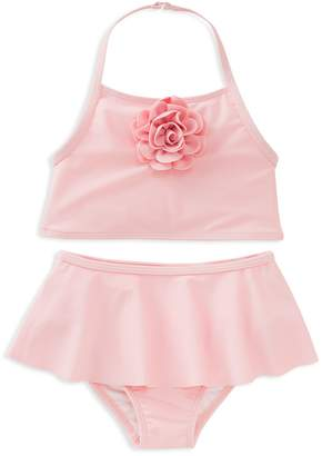 Kate Spade Girls' Rosette Skirted Two-Piece Swimsuit
