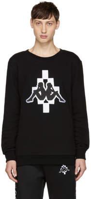 Marcelo Burlon County of Milan Black Kappa Edition Sweatshirt