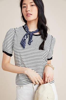 Anthropologie Kyrie Striped Sweatshirt