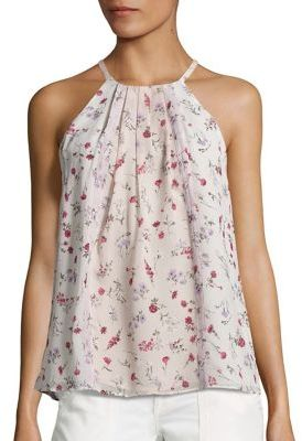 Joie Hawn Floral Silk Blouse $198 thestylecure.com