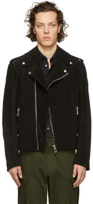 Belstaff Black Suede Edmunds Jacket