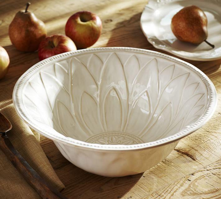 Pottery Barn Juliette Serve Bowl