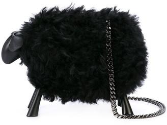 Oscar de la Renta sheep clutch bag