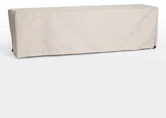 Rejuvenation Ronde Teak Bench Outdoor Cover