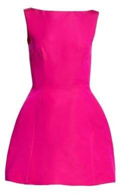 Alice + Olivia Brandon Maxwell Faille Bubble Dress