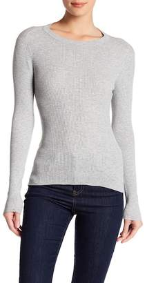 360 Cashmere Casia Ribbed Cutout Tee