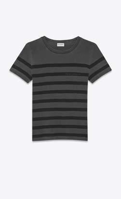 Saint Laurent Ribbed T-Shirt