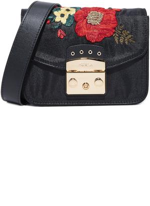 Furla Metropolis Mini Shoulder Bag $498 thestylecure.com