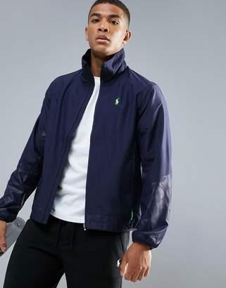 Polo Ralph Lauren Performance Lightweight Water Resistant Nylon Jacket In Navy