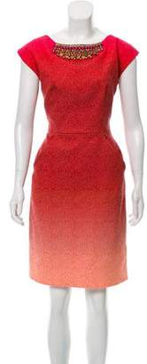 Matthew Williamson Ombré Jacquard Dress