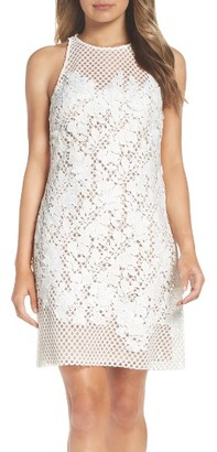 Women's Vera Wang Lace Shift Dress $328 thestylecure.com