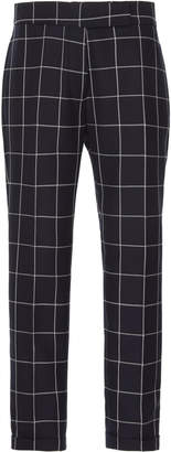 Thom Browne Tailored Cropped Wool Pants