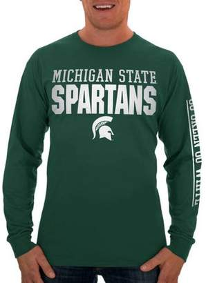 NCAA Russell Michigan State Spartans Men's Long T-Shirt