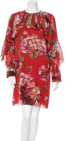 GucciGucci Fall 2015 Silk Dress