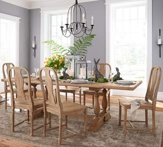 Pottery Barn Parkmore Reclaimed Wood Table & Mabry Chair Dining Set