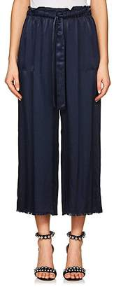 Raquel Allegra Women's Charmeuse Drawstring-Waist Pants
