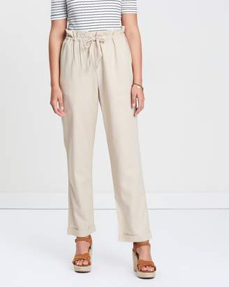 MinkPink At Ease Safari Cropped Pants