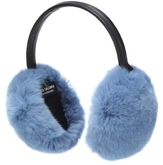 Yves Salomon Fur ear muffs