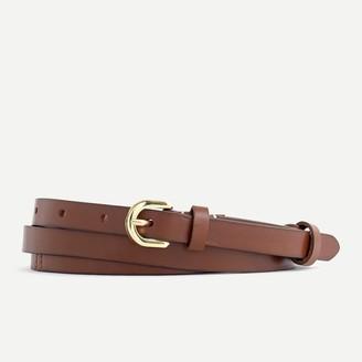J.Crew Italian leather double-wrap belt