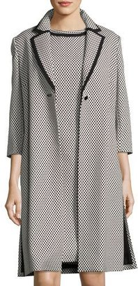 Albert Nipon Polka Dot Jacket w/ Dress $395 thestylecure.com