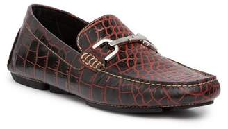 Donald J Pliner Viro Croc-Embossed Loafer