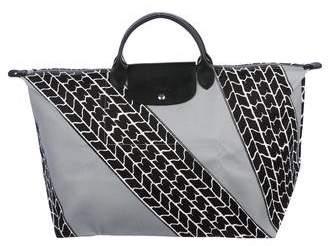 Jeremy Scott x Longchamp Pliage Canvas Tote