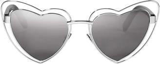 Saint Laurent Loulou Cutout Heart Sunglasses