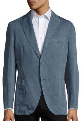 BoglioliLinen & Cotton Blend Jacket