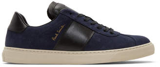 Paul Smith Navy and Black Levon Sneakers