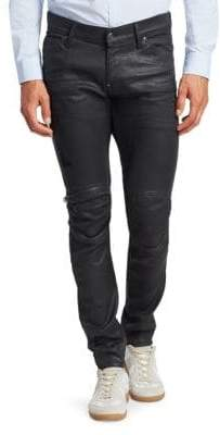 G Star Super-Slim Zip-Knee Jeans