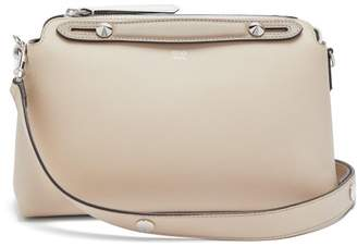 Fendi By The Way Leather Cross Body Bag - Womens - Beige Multi