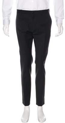 Dolce & Gabbana Wool Flat Front Pants